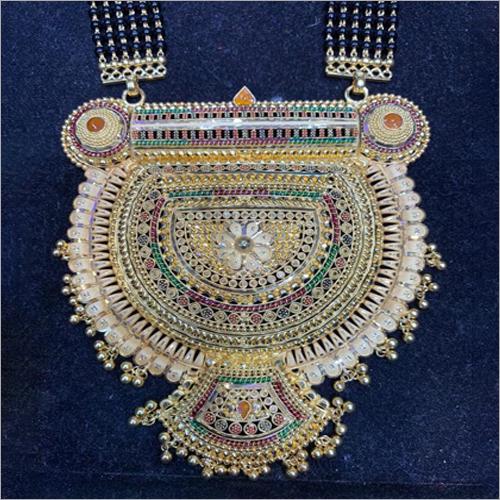 Ladies Pure Gold Designer Necklace