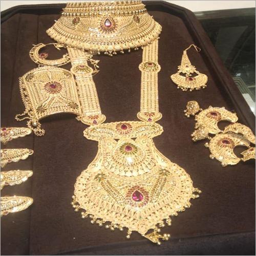 Bridal Gold Necklace Set