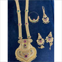 Pure Gold Bridal Gold Necklace Set