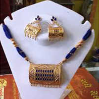 Assamese Jewellery Gamkharu Neckless Set