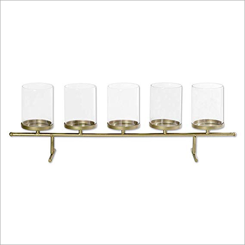 5 Glass Tea Light Holder