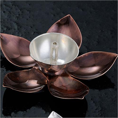 Lotus Shaped Antique Diya