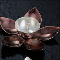 Lotus Shaped Antique Diya