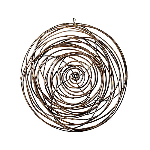 Bird Nest Metal Wall Art Hanging