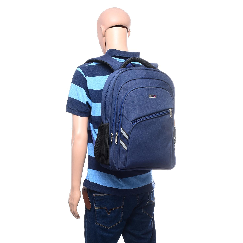 Flyit Polyester Blue Laptop Backpack