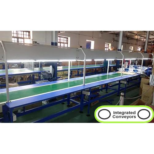 Assembly Line PVC Belt Conveyors