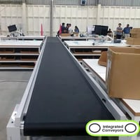 PVC Flat Belt Conveyor System