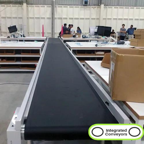 PVC Flat Belt Conveyor System
