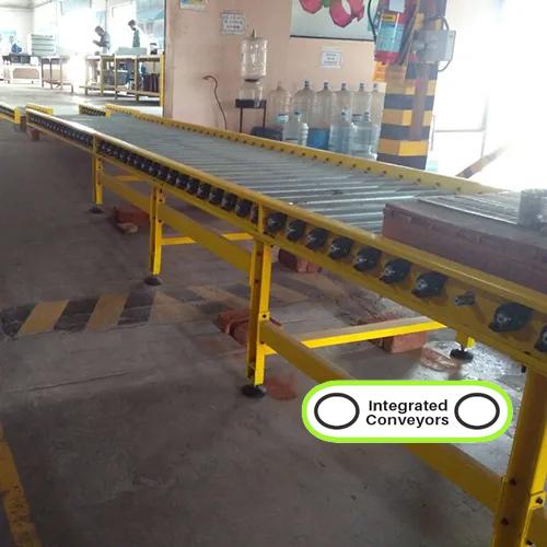 Pallet Transfer Roller Conveyor System