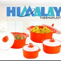 Plastic container set