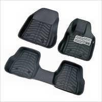 3 Pcs 5d Leather Mat Set