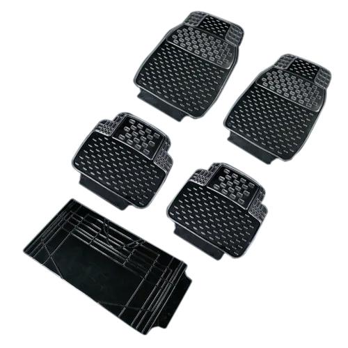 Black PVC Car Mats