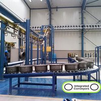 90 Degree Roller Conveyor System
