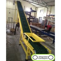 Inclined Cleat Belt Conveyor System