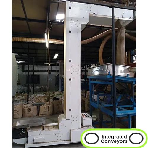 Z Type Bucket Elevator Conveyor System