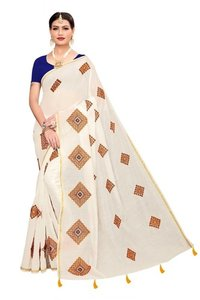 New Designer Chanderi Saree
