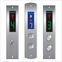 Push Elevator Operating Panel