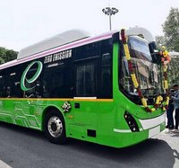 Latches Electric Bus