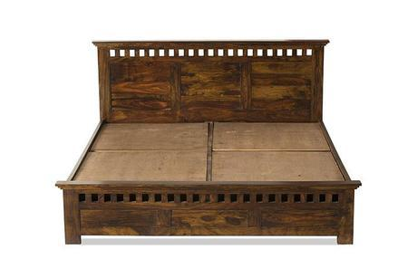 Solid Wood Bed Kuber