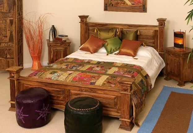 Solid Wooden Bed Maharaja