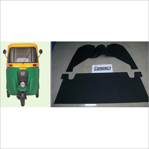 Compact Auto Rickshaw Rubber Foot Mat
