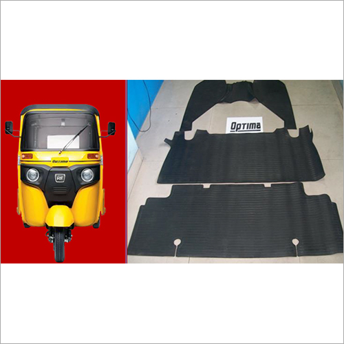 Optima Auto Rickshaw Rubber Foot Mat