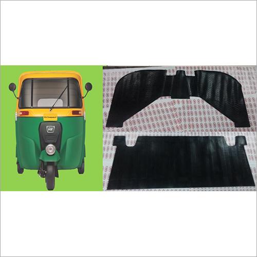 Bajaj M-145 Auto Rickshaw Rubber Foot Mat