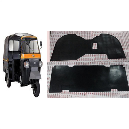 Ape City Auto Rickshaw Rubber Foot Mat