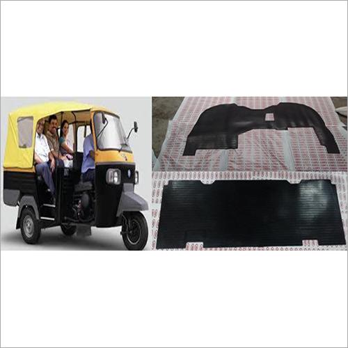 Ape Passenger Rickshaw Rubber Foot Mat