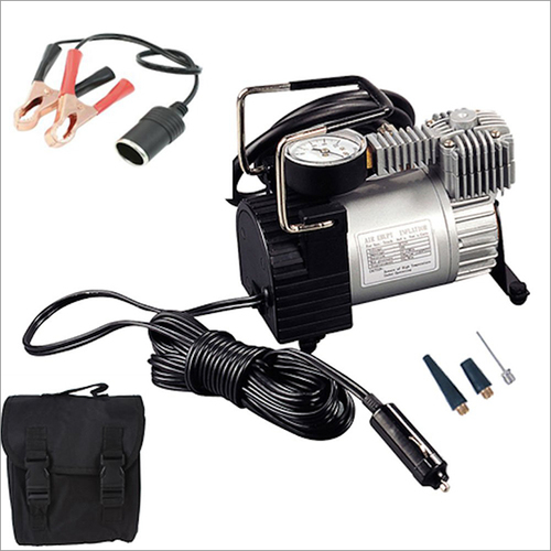 Metal Air Compressor For All Cars And Bikes