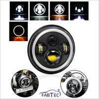 Light for Bullet 7 Inch with Full DRL Ring Headlight