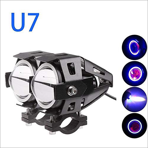 U7 LED DRL Ring with Projector Lens, Fog Light