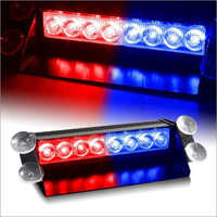 Red Blue Police Flasher Light