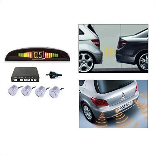 Silver Parking Reverse Sensors