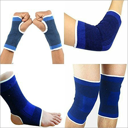 Combo Of Palm Gloves + Knee Support + Elbow Support + Ankle Support