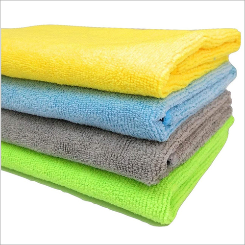 4Pc Microfiber Cloth 30x30 Cm