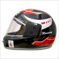 Full Face ISI Black Helmet