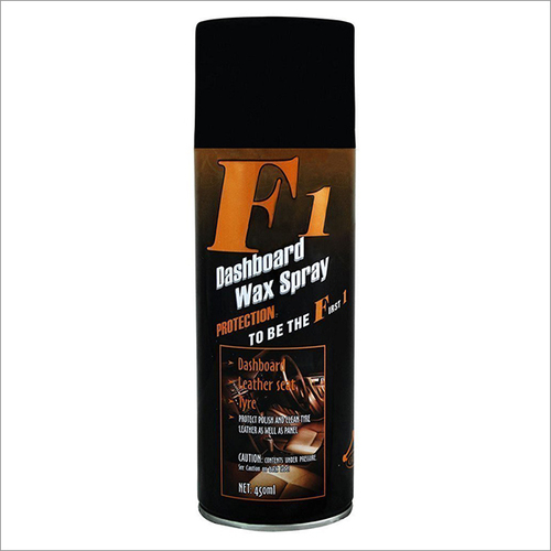 F1 Dashboard Wax Spray Polish for All Cars