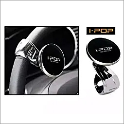 Generic i-Pop Car Steering Knob Wheel Holder (Black)
