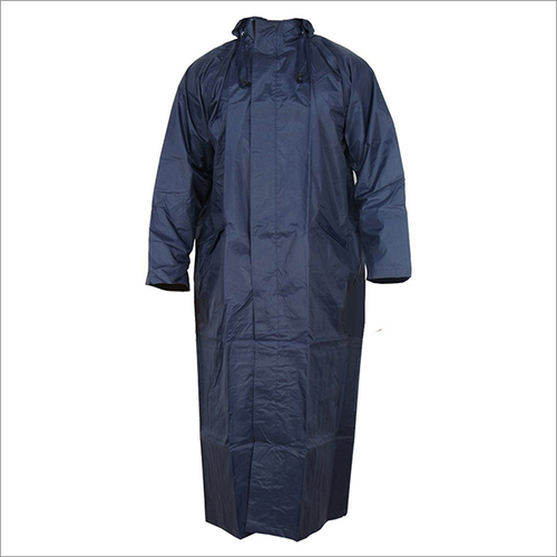 Rain Coat (Navy_Blue_Free Size)