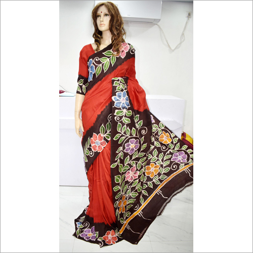 Ladies Designer Bishnupuri Saree
