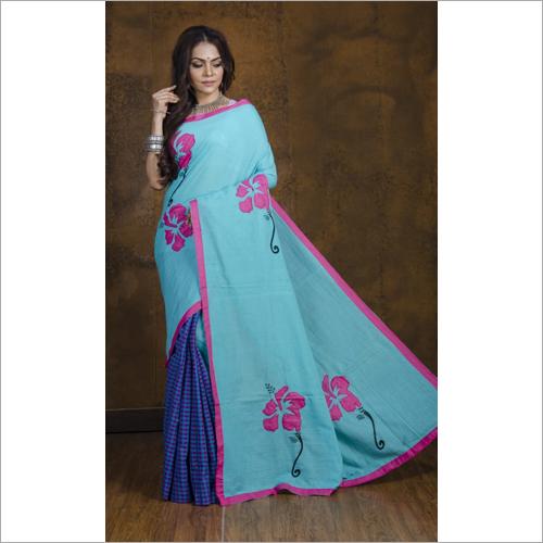 Lightweight Boutique Embroidered Saree