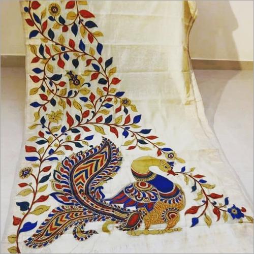 Pure Tushar Silk Saree