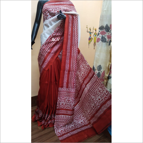 Fancy Tushar Silk Saree
