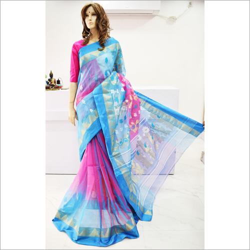 Ladies Bengal Special Tant Tussar Saree