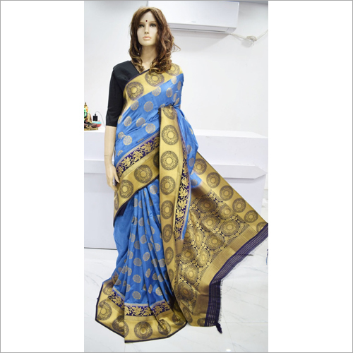 Ladies Banarasi Tussar Saree