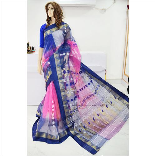 Designer Bengal Special Tant Tussar Saree