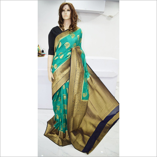 Designer Banarasi Tussar Saree