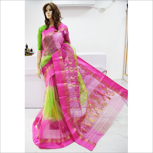 Ladies Tussar Saree