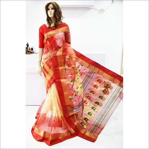 Party Wear Tussar Saree